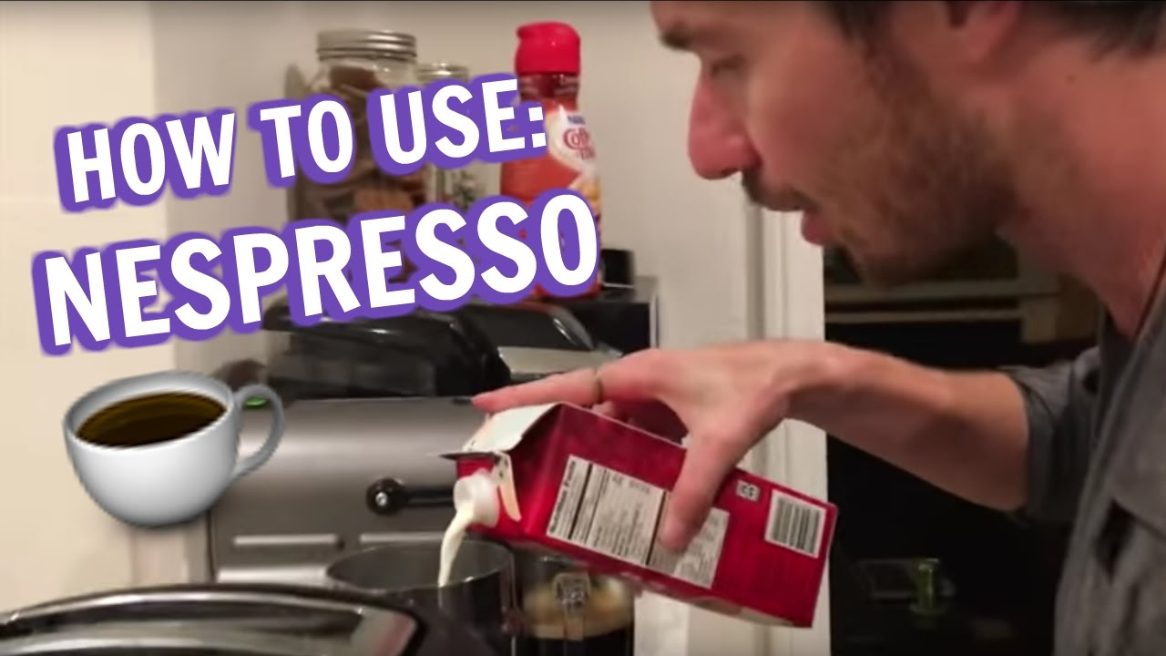 HOW TO USE NESPRESSO INISSIA ESPRESSO MACHINE - YouTube