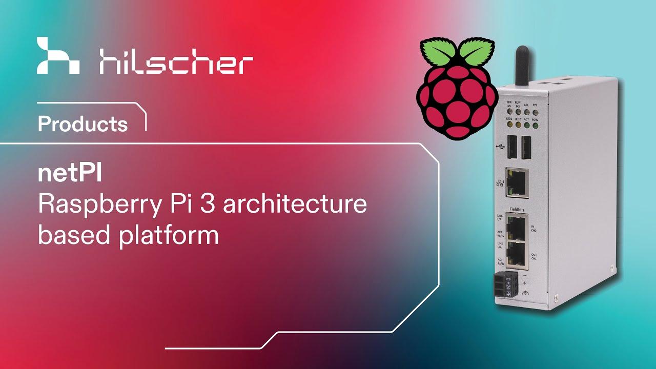 netPI - Industrial Raspberry Pi 3 as Open Edge Connectivity