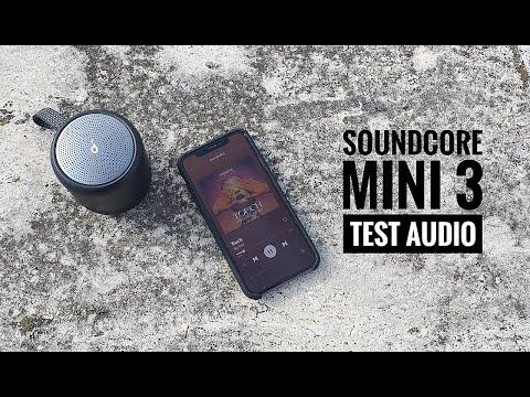 Test audio Soundcore Mini 3