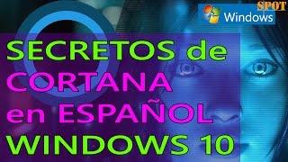 Secretos y comandos de Cortana en español para Windows 10