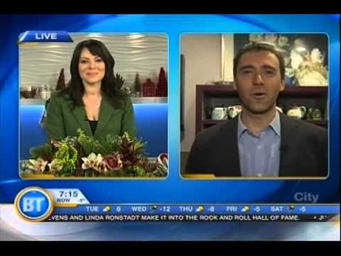 NetTalk DUO WI FI GIVEAWAY ON BREAKFAST TELEVISION CALGARY ALBERTA CANADA  THE 12 DAYS OF GADGET GIV