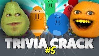 Annoying Orange & Pear play Trivia Crack #5