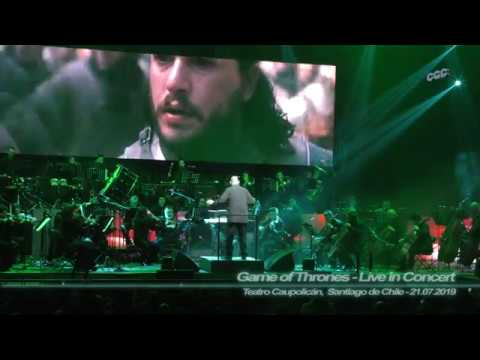 Game Of Thrones - Live In Concert - Main Title (4K - Teatro Caupolicán, Stgo.de Chile - 21.07.2019)