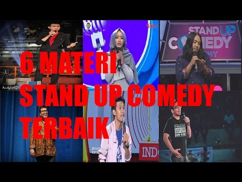 6 Materi STAND UP COMEDY TERBAIK SEINDONESIA(PART 2)