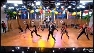 "Teen Beach Movie Cast Performing ""Cruisin' for a Bruisin'"" on Good Morning America"