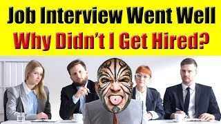 My Job Interview Went Well But Why Didn
