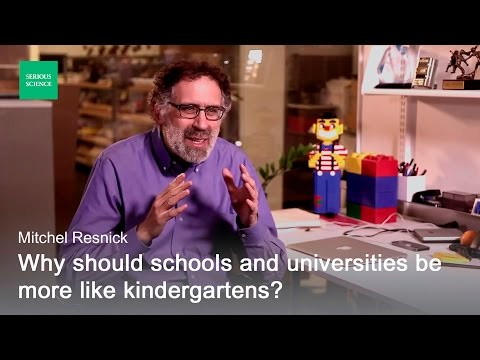 Kid's Creative Thinking - Mitchel Resnick