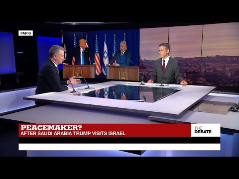 Peacemaker? After Saudi Arabia, Trump visits Israel