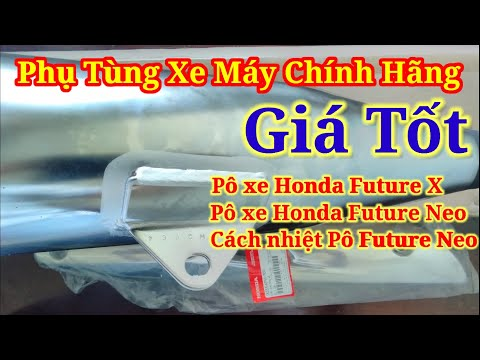 báo giá pô xe Honda Future X hoặc Future Neo chính hãng | cách nhiệt pô xe Future Neo