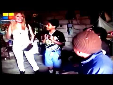 SHARON LA DIVA en HEROES VERDADEROS  - GAMA TV.
