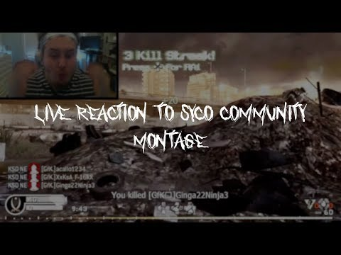 LIVE REACTION TO SYCO THE COMMUNITY MONTAGE *** ONE OF MY FAVORITE EDITORS ***