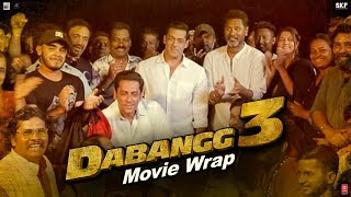 Dabangg 3 Movie Wrap | Salman Khan | Sonakshi Sinha | Prabhu Deva | 20th Dec'19