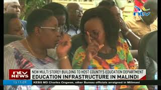 Malindi government launches construction of county education department