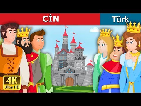 CİN | The Gnome Story in Turkish | Masal dinle | Türkçe peri masallar