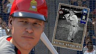 DIAMOND RICHIE ASHBURN INSIDE THE PARK HR IN DEBUT!! MLB THE SHOW 18 DIAMOND DYNASTY