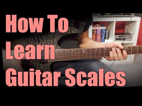 Learn Guitar Scales The Easy Way - part 1