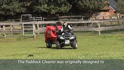 Paddock Cleaner Weide Englisch