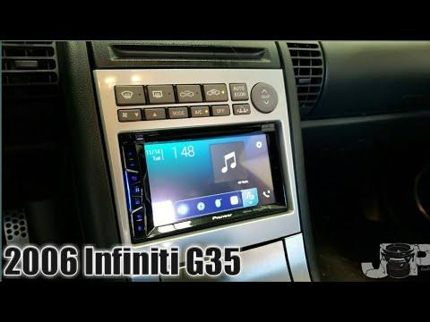 Infiniti G35 Radio Removal