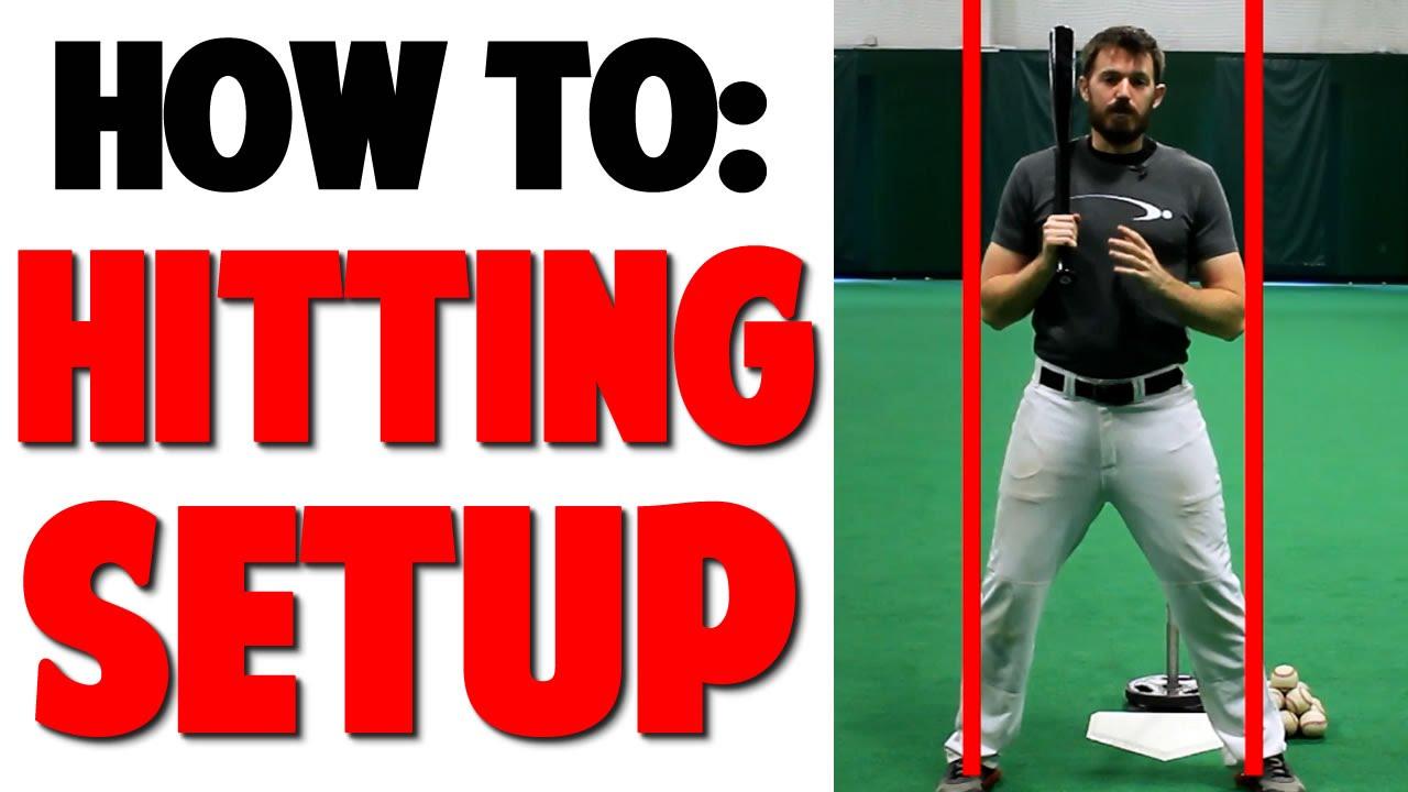 Perfect Hitting Setup Baseball Hitting Pro Speed Baseball