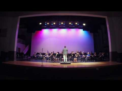 "Westglades Middle School Band 4 (""The Westglades Winds""): ""Fanfare for the Third Planet"""