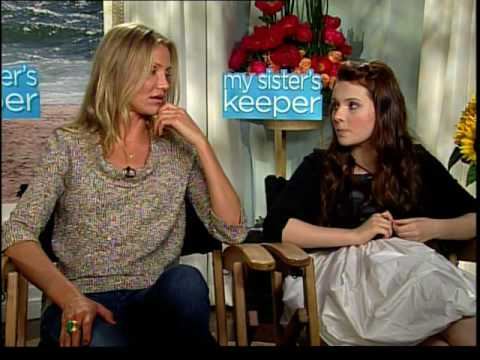 Cameron Diaz Abigail Breslin Sofia Vassilieva interview for  My Sisters Keeper