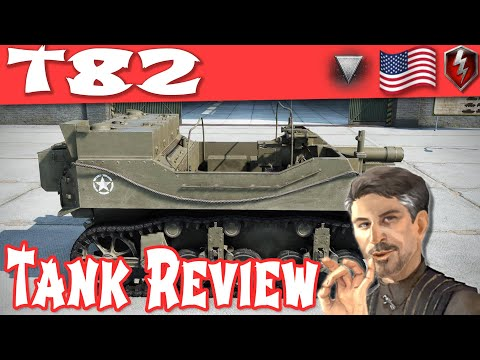 T82 Tank Review - American Tier 3 Tank Destroyer  || World of Tanks Blitz ||