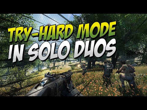 BOBBY GOES TRY-HARD MODE IN SOLO DUOS!