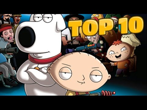 TOP 10 Family Guy Characters