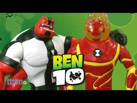 Ben 10 Heatblast & Four Arms Giant Action Figure From Playmates Toys