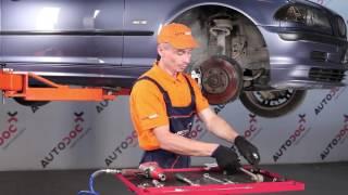 Kaip ir kada reikia keisti gale ir priekyje Pasukimo trauklė BMW 3 (E46): videopamokos