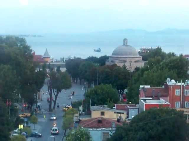 panorama la sainte sophie et sultan ahmet