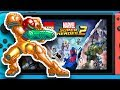 More 2D Metroid Games , New Monolith Soft Game , Lego Marvel Superheroes 2 Switch Pairity