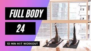 No. 50| Full Body HIIT Workout With Low Impact & Beginner Modifications