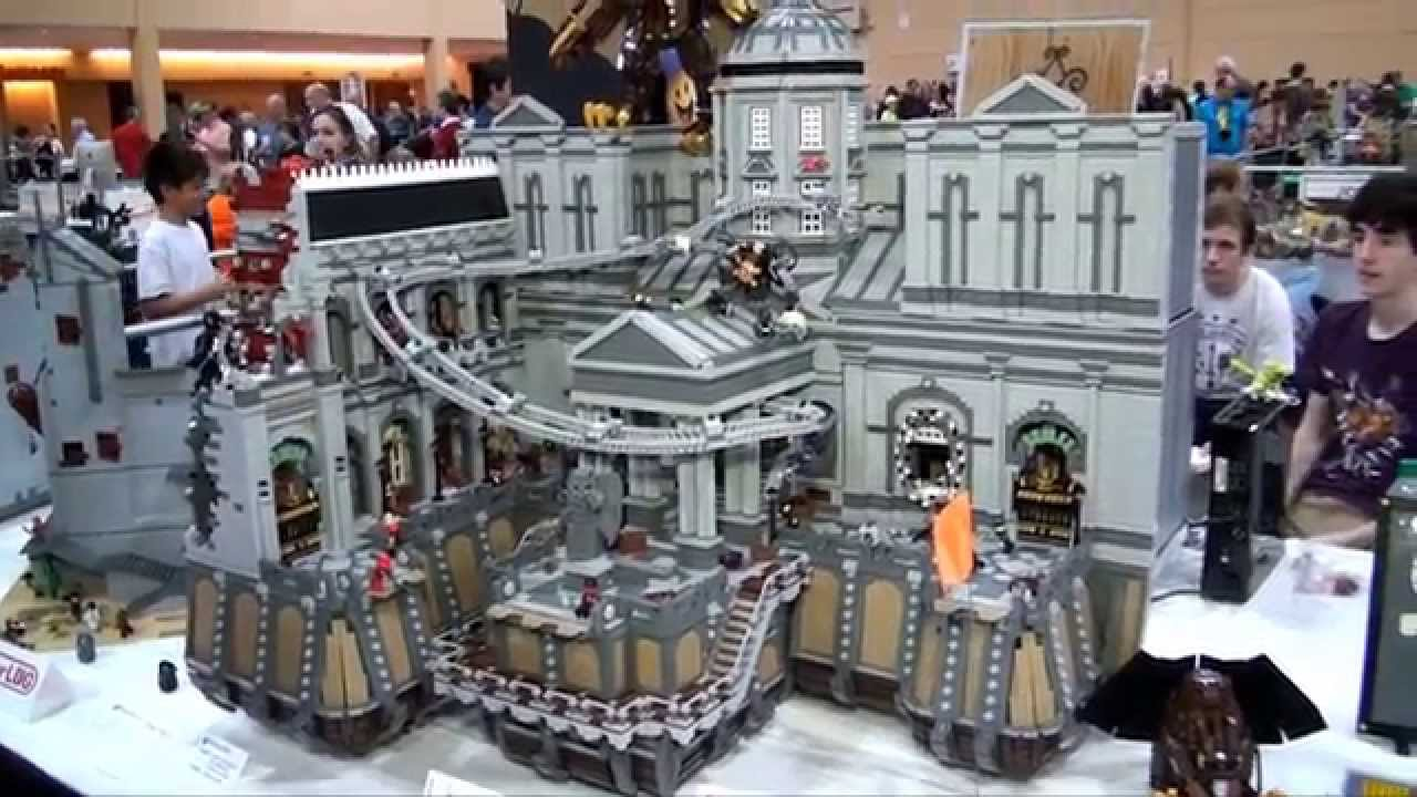 LEGO Bioshock Infinite Bank of the Prophet - Brickworld Chicago 2014