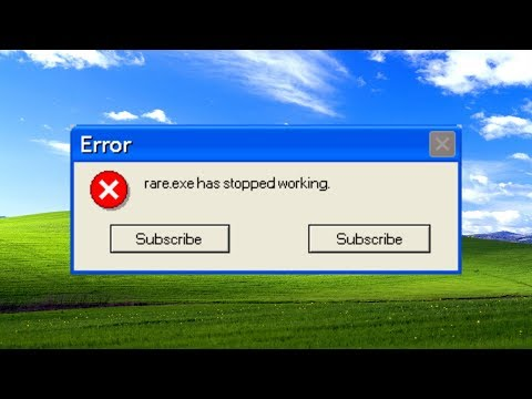 Rare.exe Has Stopped Working