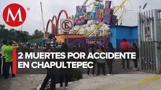 Accidente en La Feria de Chapultepec deja 2 muertos