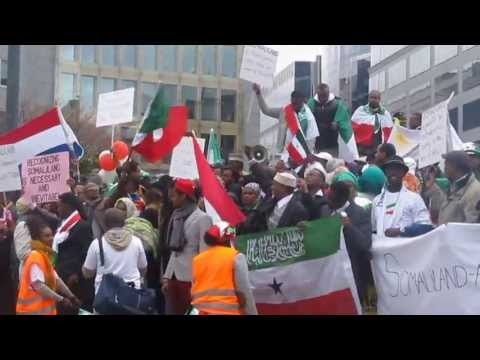 "2013 Brussels Rally ""Pushing Somaliland's Case for International Recognition"""