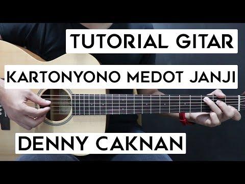 Tutorial Melodi Petikan Gitar Kartoyono Medot Janji Denny Caknan