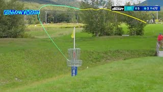 AMAZING Disc Golf Shots from the 2020 Green Mountain Championship | LEAD CARD HIGHLIGHTS | Jomez
