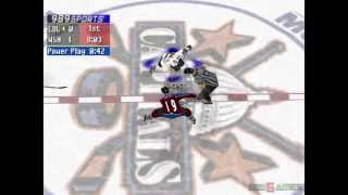 NHL FaceOff 2000 - Gameplay PSX (PS One) HD 720P (Playstation classics)