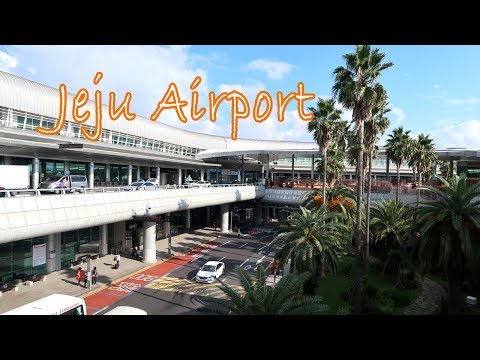 Jeju International Airport (2nd largest airport in South Korea)  | 제주공항 영상