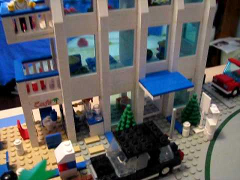 Legotown City Hotel Tour - March 2009 - A Tyler Lego Town Tour - YouTube