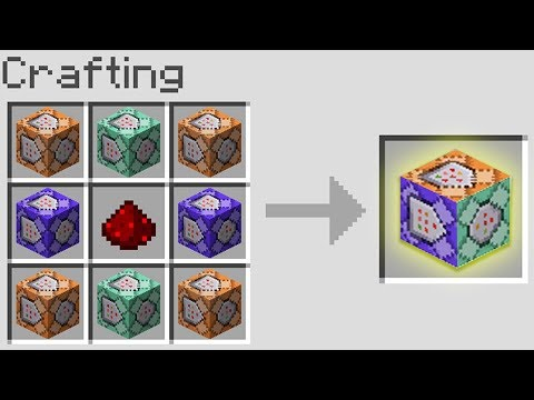How to Craft SECRET COMMAND BLOCKS in Minecraft! (Pocket Edition, Xbox, PC)