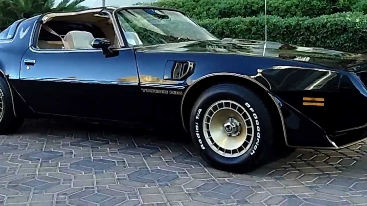 1981 Pontiac Firebird Smokey And The Bandit Tribute Car