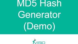 Online MD5 Hash Generator / Creator