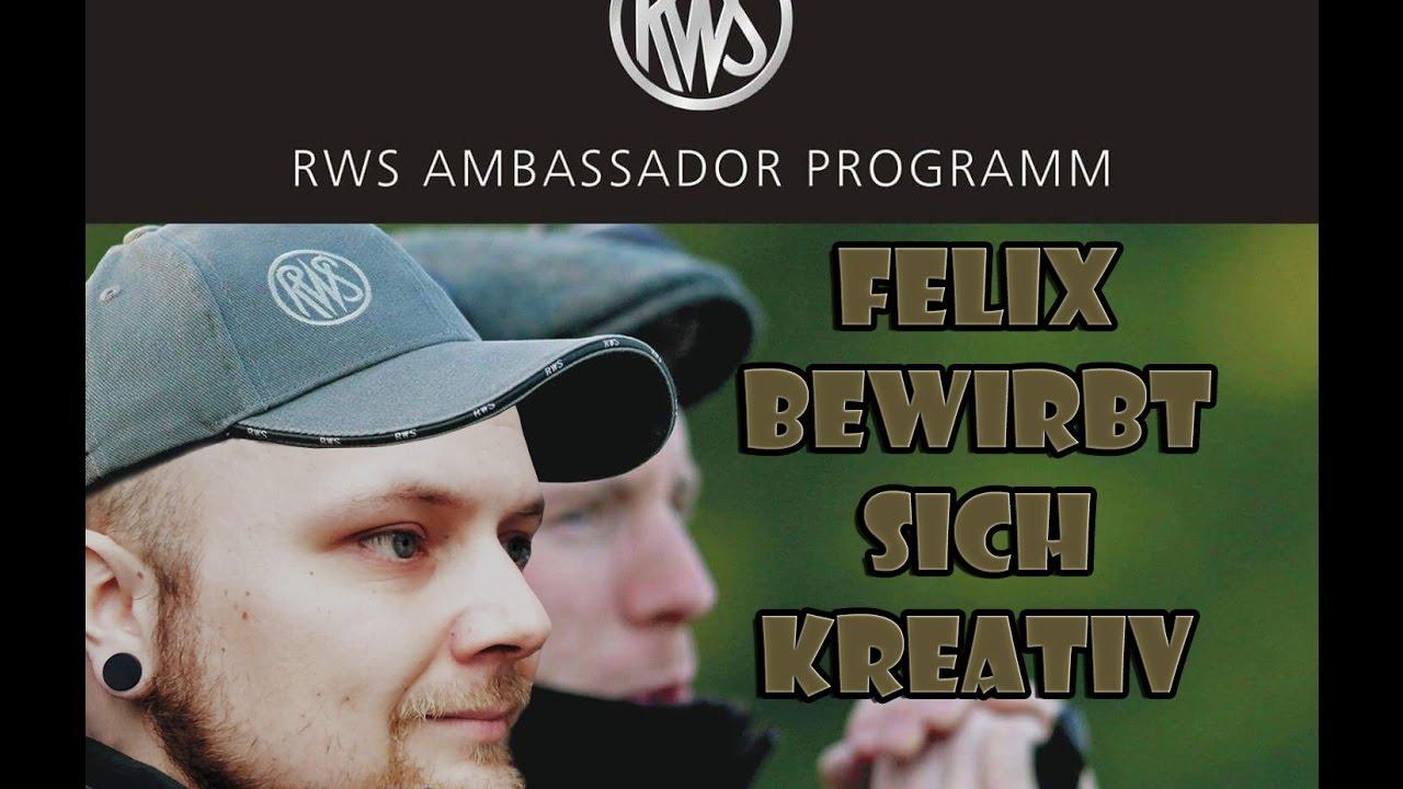 Rws Ambassador Programm Die Kreative Bewerbung Youtube