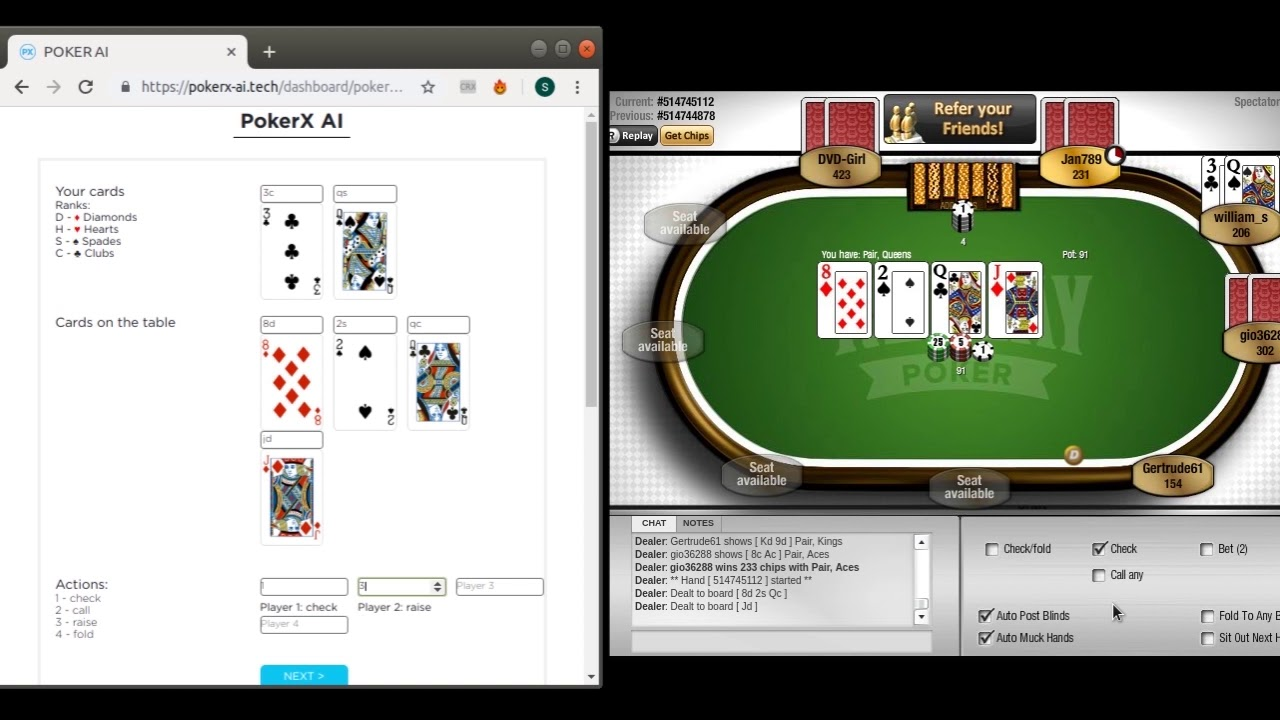 AI makes me +250$/day | Poker Texas Holdem | +72% accuracy | Best strategy  2019