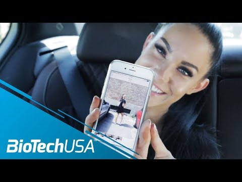 A Day in the  life of Stephanie Davis IFBB Bikini & Fitness Model - BioTechUSA