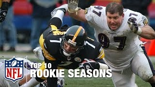 Top 10 Rookie Seasons in NFL History | #ThrowbackThursday | NFL NOW