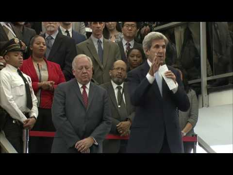 PENTAGON w/CC: 1-19-17. Former Sec. John Kerry Gave Farewell Remarks to State Dept. Employees.